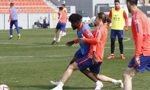 Temporada 18/19 | Entrenamiento del primer equipo | 17/04/2019 | Thomas y Filipe