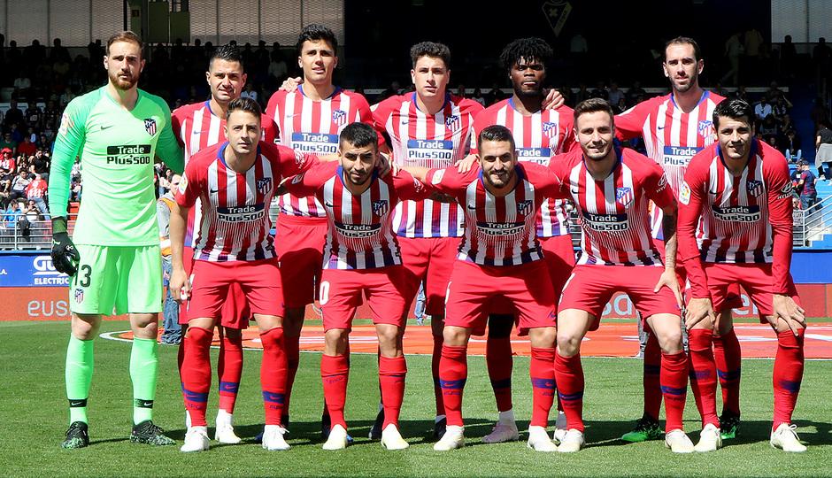 Temporada 18/19 | Eibar - Atlético de Madrid | Once inicial