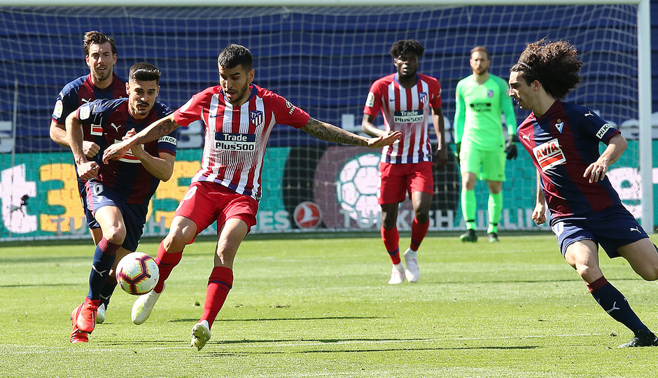 Temporada 18/19 | Eibar - Atlético de Madrid | Correa