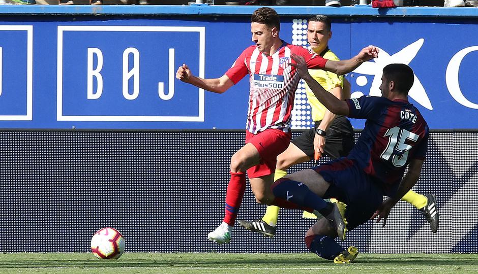 Temporada 18/19 | Eibar - Atlético de Madrid | Arias