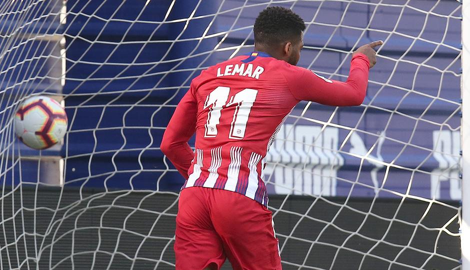 Temporada 18/19 | Eibar - Atlético de Madrid | Lemar