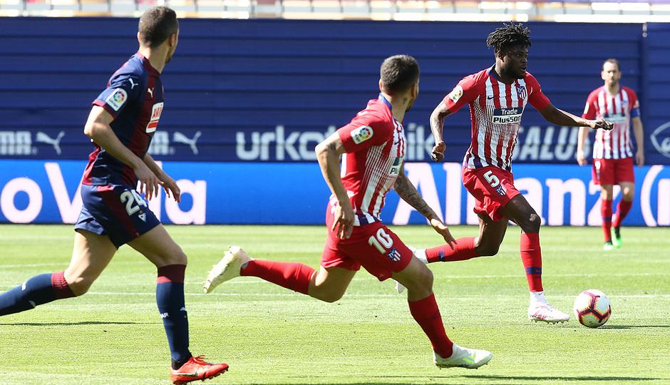 Temporada 18/19 | Eibar - Atlético de Madrid | Thomas