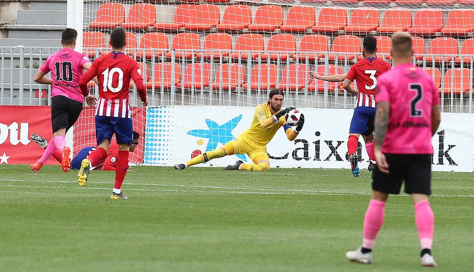 Temp. 18-19 | Atlético de Madrid B - UD Sanse | San Román