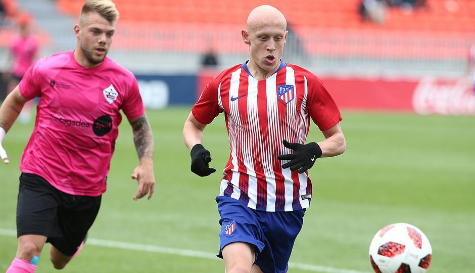 Temp. 18-19 | Atlético de Madrid B - UD Sanse | Mollejo