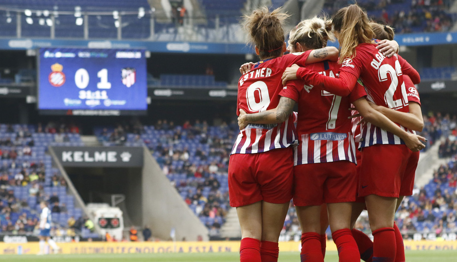 Temporada 18/19 | Espanyol - Atlético de Madrid Femenino | Gol
