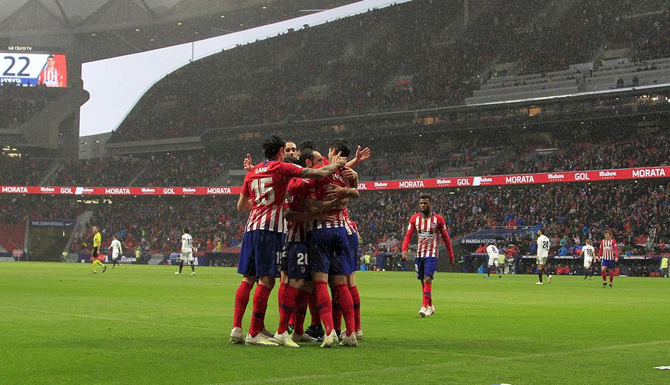 Temp 18/19 | Atlético de Madrid - Valencia | Piña
