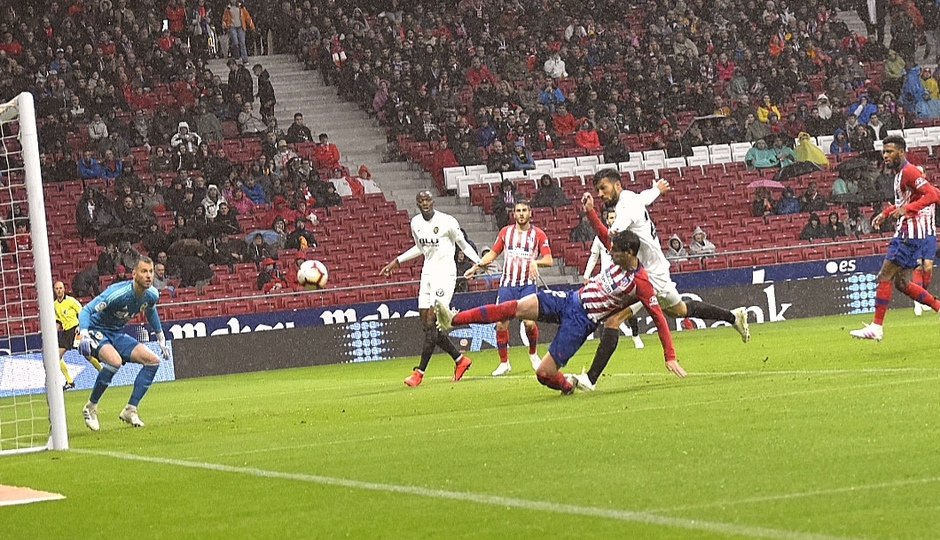Temporada 18/19 | Atlético de Madrid - Valencia | Morata