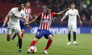 Temporada 18/19 | Atlético de Madrid - Valencia | Koke