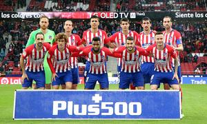 Temporada 18/19   Atlético de Madrid - Valencia   Once