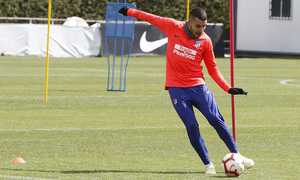 Temporada 18/19 | Entrenamiento del primer equipo | 25/04/2019 | Correa