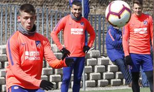 Temporada 18/19 | Entrenamiento del primer equipo | 25/04/2019 | Montero