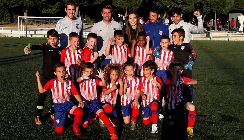 Temporada 18/19 | Atlético de Madrid Prebenjamín A campeón de liga | GALERÍA ACADEMIA 2019