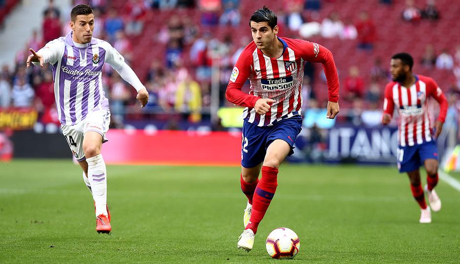Temporada 18/19 | Atlético de Madrid - Valladolid | Morata