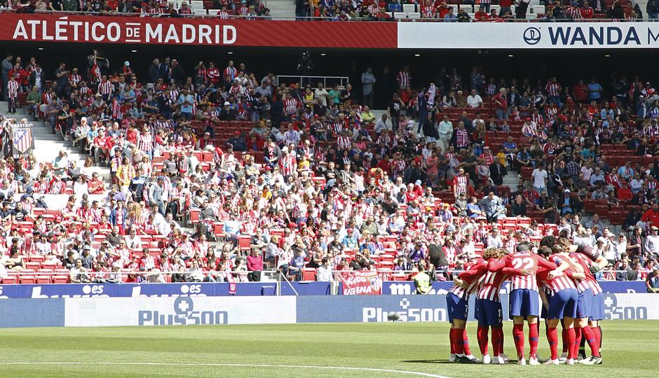 Temporada 18/19 | Atlético de Madrid - Valladolid | Equipo