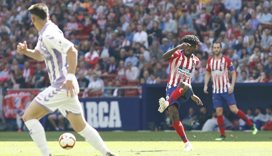 Temporada 18/19 | Atlético de Madrid - Valladolid | Thomas
