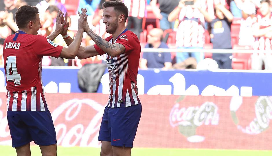 Temporada 18/19 | Atlético de Madrid - Valladolid | Arias y Saúl