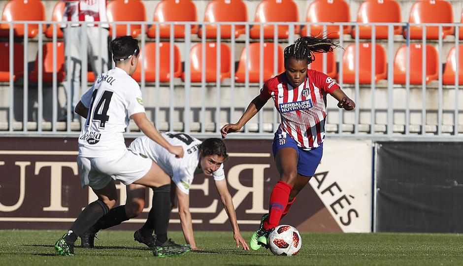 Temporada 18/19 | Atlético de Madrid Femenino- Valencia | Ludmila