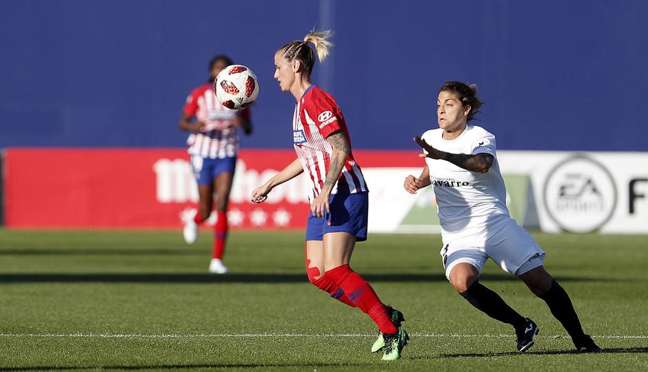 Temporada 18/19 | Atlético de Madrid Femenino- Valencia | Sosa