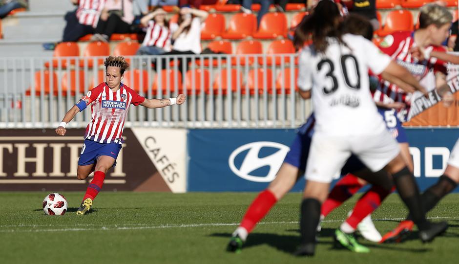 Temporada 18/19 | Atlético de Madrid Femenino- Valencia | Amanda