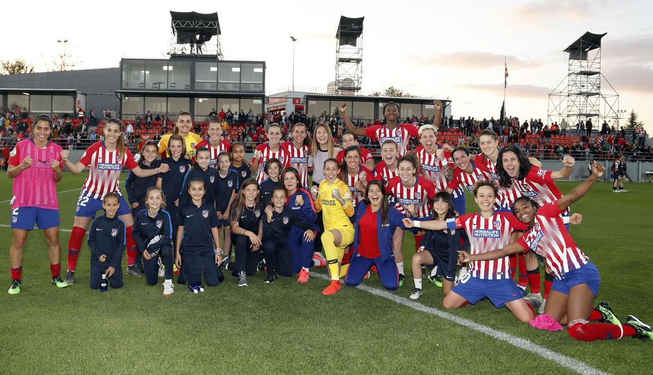 Temporada 18/19 | Atlético de Madrid Femenino- Valencia | Equipo