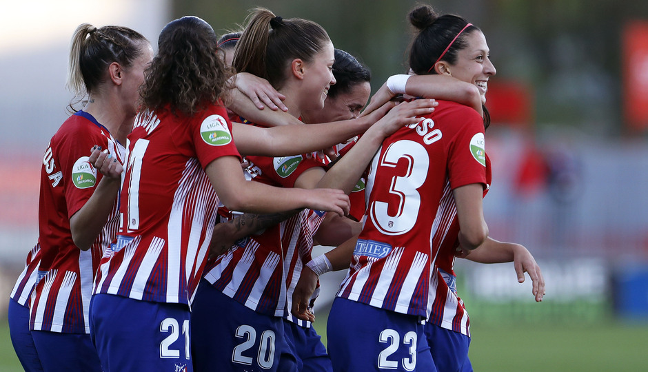 Temporada 18/19 | Atlético de Madrid Femenino- Valencia | Celebración