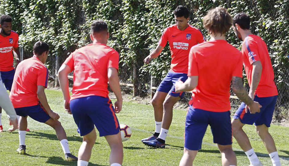 Temporada 18/19 | Entrenamiento del primer equipo | 30/04/2019 | Rodrigo