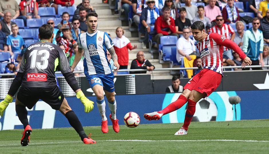 Temp 18/19 | Espanyol - Atlético de Madrid | Morata