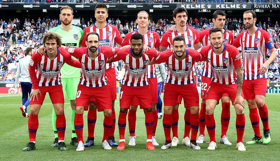 Temp 18/19 | Espanyol - Atlético de Madrid | Once