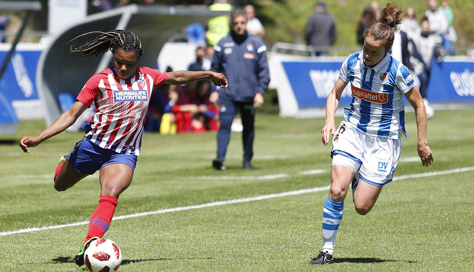 Temporada 18/19 | Real Sociedad - Atlético de Madrid B | Ludmila