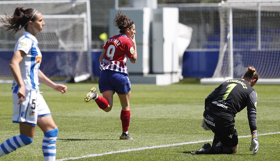 Temporada 18/19 | Real Sociedad - Atlético de Madrid B | Esther