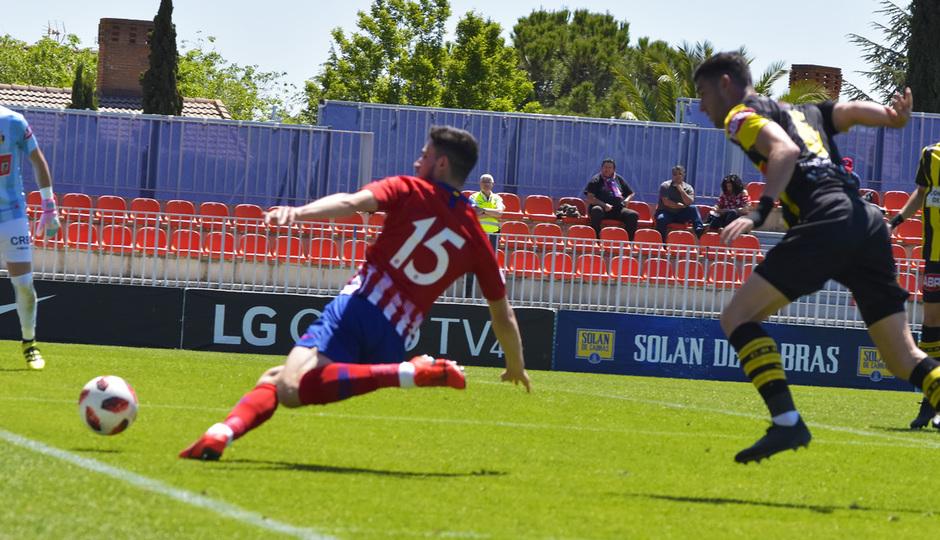 Temporada 18/19 | Atlético de Madrid B - Rápido de Bouzas | Rubén Fernández