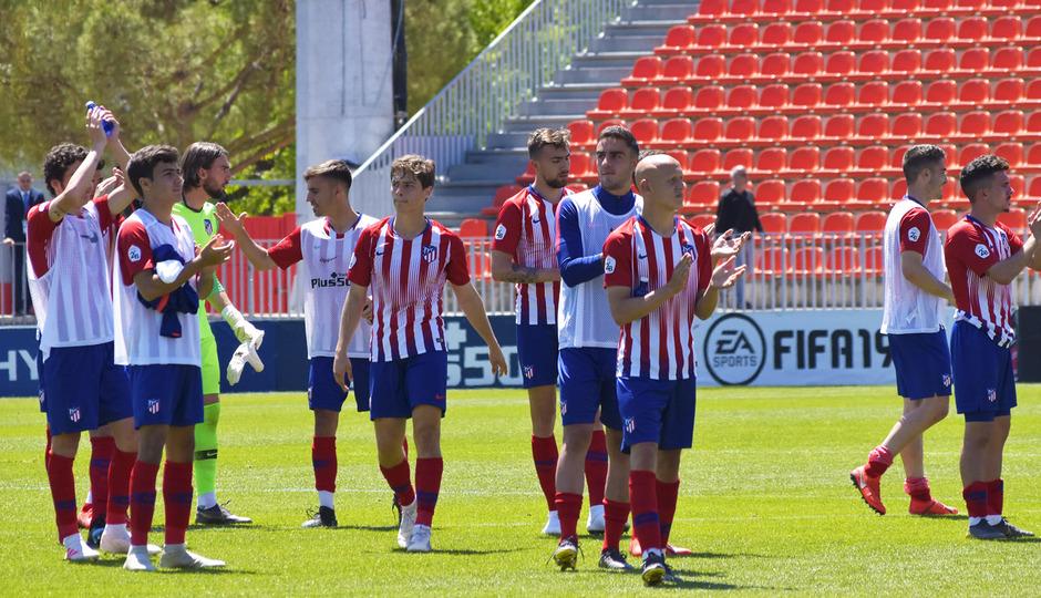 Temporada 18/19 | Atlético de Madrid B - Rápido de Bouzas | Equipo