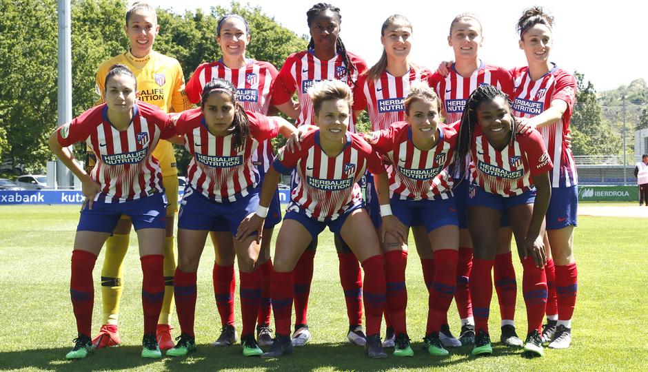 Temporada 18/19 | Real Sociedad - Atlético de Madrid Femenino | Once inicial