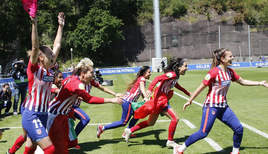 Temporada 18/19 | Real Sociedad - Atlético de Madrid Femenino | Celebración