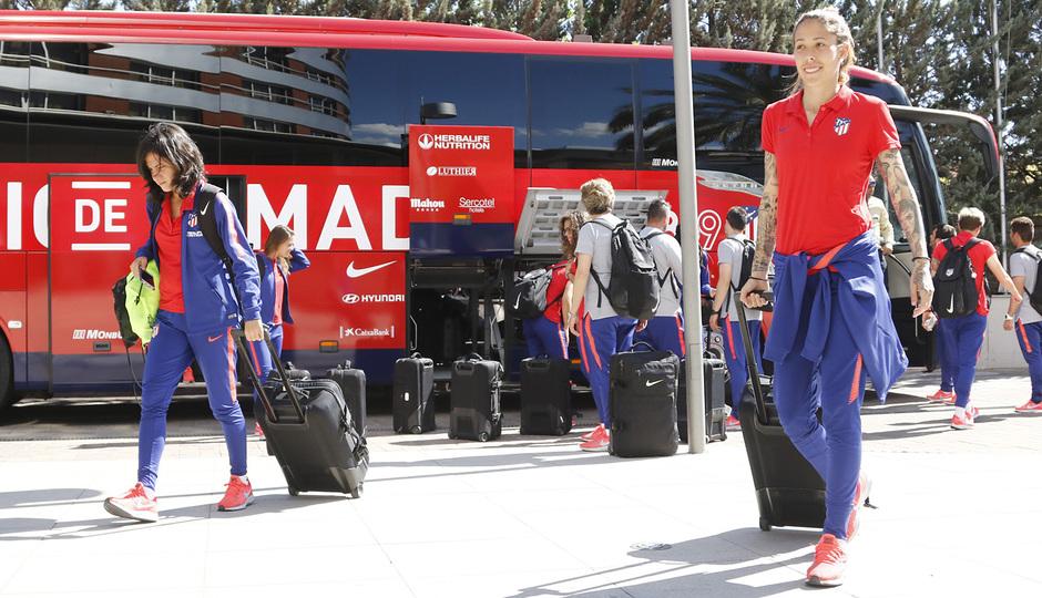 Temp. 18-19 | Llegada a Granada | Atlético de Madrid Femenino | Lola Gallardo