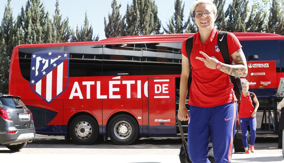 Temp. 18-19 | Llegada a Granada | Atlético de Madrid Femenino | Linari