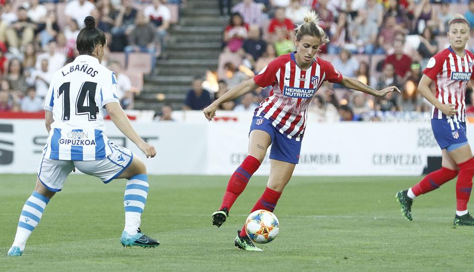 Temporada 18/19 | Atlético de Madrid - Real Sociedad | Final de la Copa de la Reina | Ángela Sosa