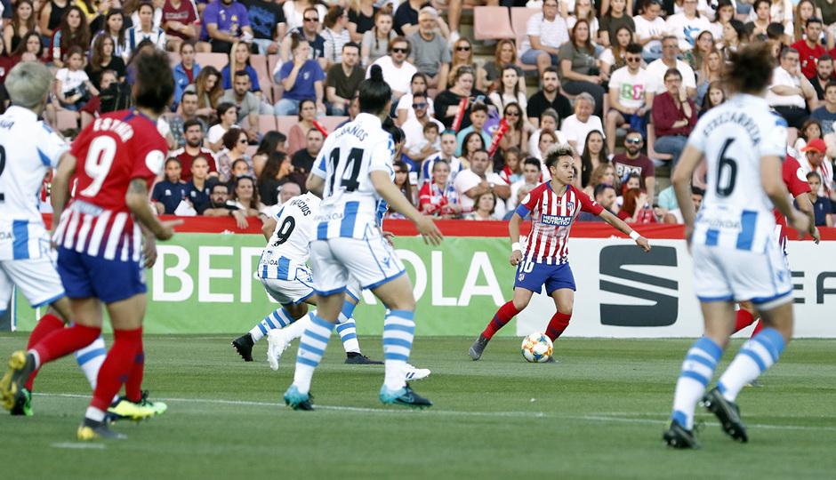 Temporada 18/19 | Atlético de Madrid - Real Sociedad | Final de la Copa de la Reina | Amanda