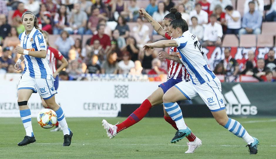 Temporada 18/19 | Atlético de Madrid - Real Sociedad | Final de la Copa de la Reina | Jenni Hermoso