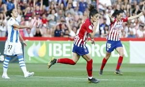 Temporada 18/19   Atlético de Madrid - Real Sociedad   Final de la Copa de la Reina   Esther