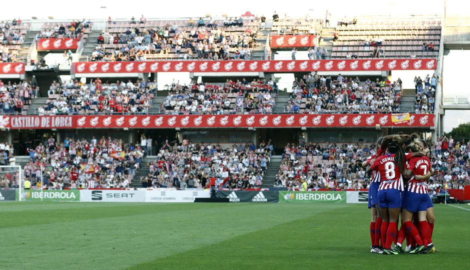 Temporada 18/19 | Atlético de Madrid - Real Sociedad | Final de la Copa de la Reina | Celebración