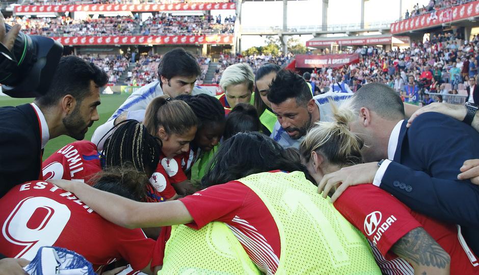 Temporada 18/19 | Atlético de Madrid - Real Sociedad | Final de la Copa de la Reina | Grito