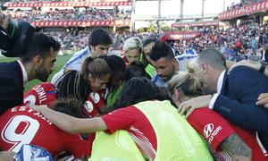 Temporada 18/19   Atlético de Madrid - Real Sociedad   Final de la Copa de la Reina   Grito