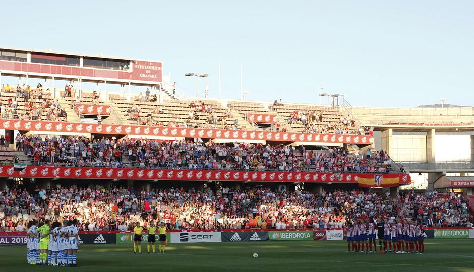 Temporada 18/19 | Atlético de Madrid - Real Sociedad | Final de la Copa de la Reina | Nuevo Los Cármenes