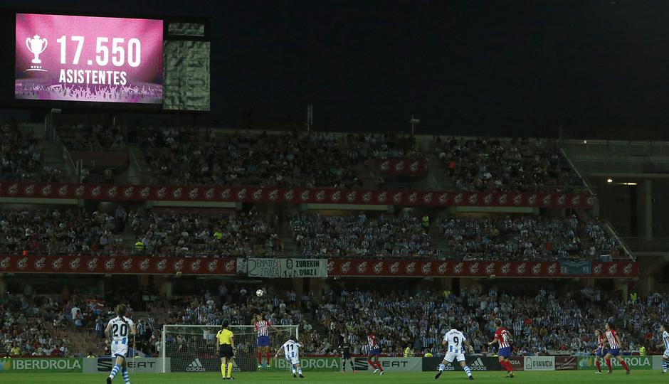 Temporada 18/19 | Atlético de Madrid - Real Sociedad | Final de la Copa de la Reina |