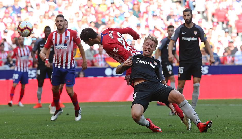 Temp. 2018-19 | Atlético de Madrid - Sevilla | Morata