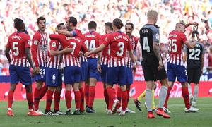 Temp. 2018-19 | Atlético de Madrid - Sevilla | Gol  de Koke