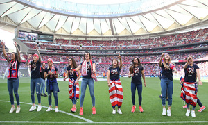 Temp. 2018-19 | Atlético de Madrid - Sevilla | Celebración Atlético de Madrid Femenino |