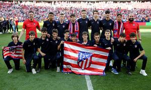 Temp 18/19 | Homenaje campeones Academia | Cadete E