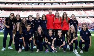 Temp 18/19 | Homenaje campeones Academia | Femenino Alevín A